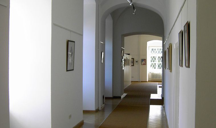 Exhibition rooms at the Castle